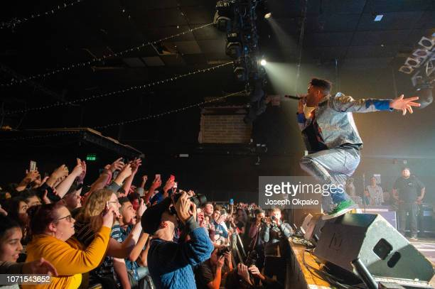 Kyle performs on stage at Electric Ballroom on December 10 2018 in London England