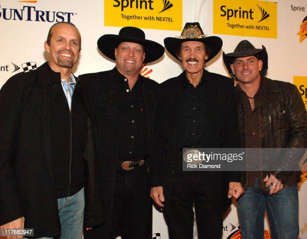 Kyle Petty Eddie Montgomery Richard Petty and Keith Anderson