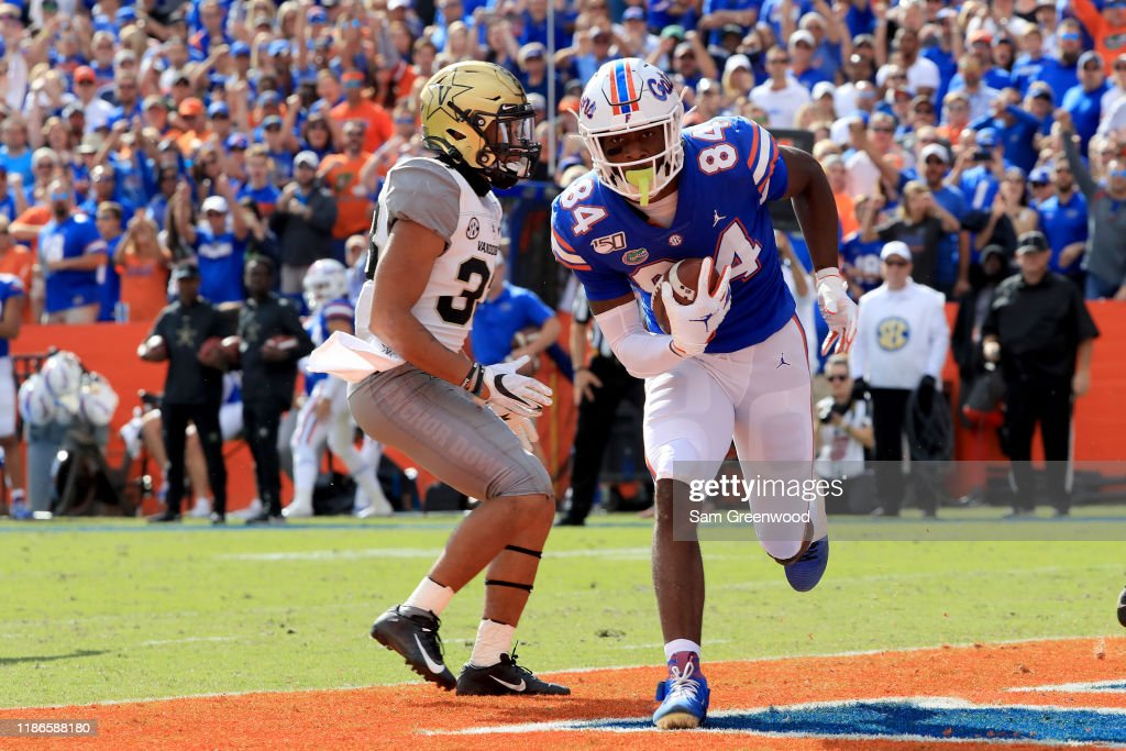 Vanderbilt v Florida : News Photo
