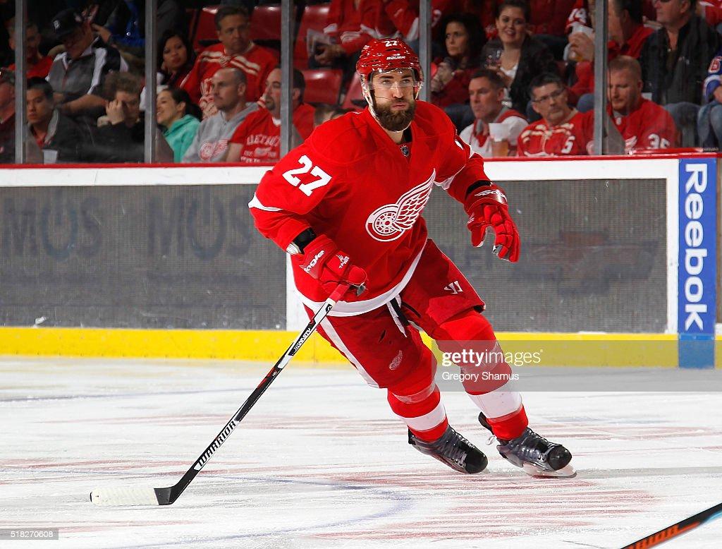 New York Ranges v Detroit Red Wings : News Photo