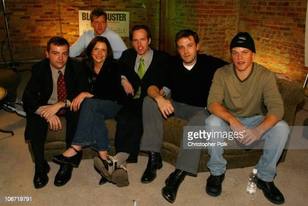Kyle Renkin Chris Moore Erica Beeney Efram Potalle Ben Affleck and Matt Damon