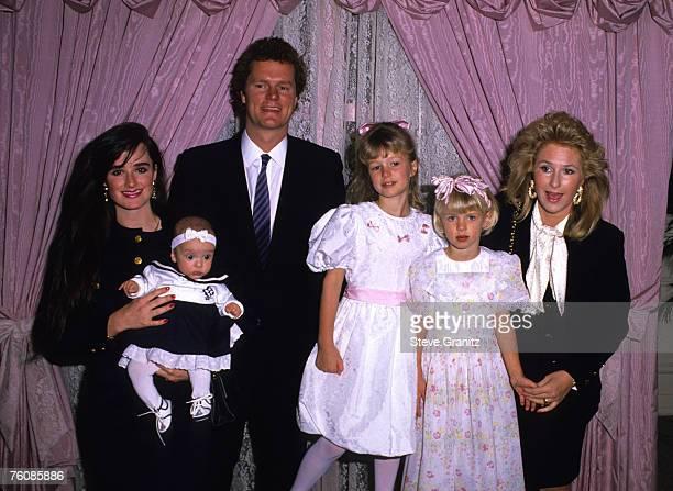 Kyle Richards and Daughter Farrah, Rick Hilton, Paris Hilton, Nicky Hilton, and Kathy Hilton