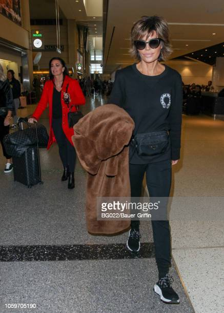 4b70174164a Kyle Richards and Lisa Rinna are seen on November 09 2018 in Los Angeles  California