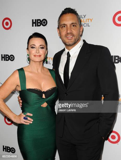 Kyle Richards and Mauricio Umansky attend Family Equality Council's annual Impact Awards at the Beverly Wilshire Four Seasons Hotel on March 11 2017...