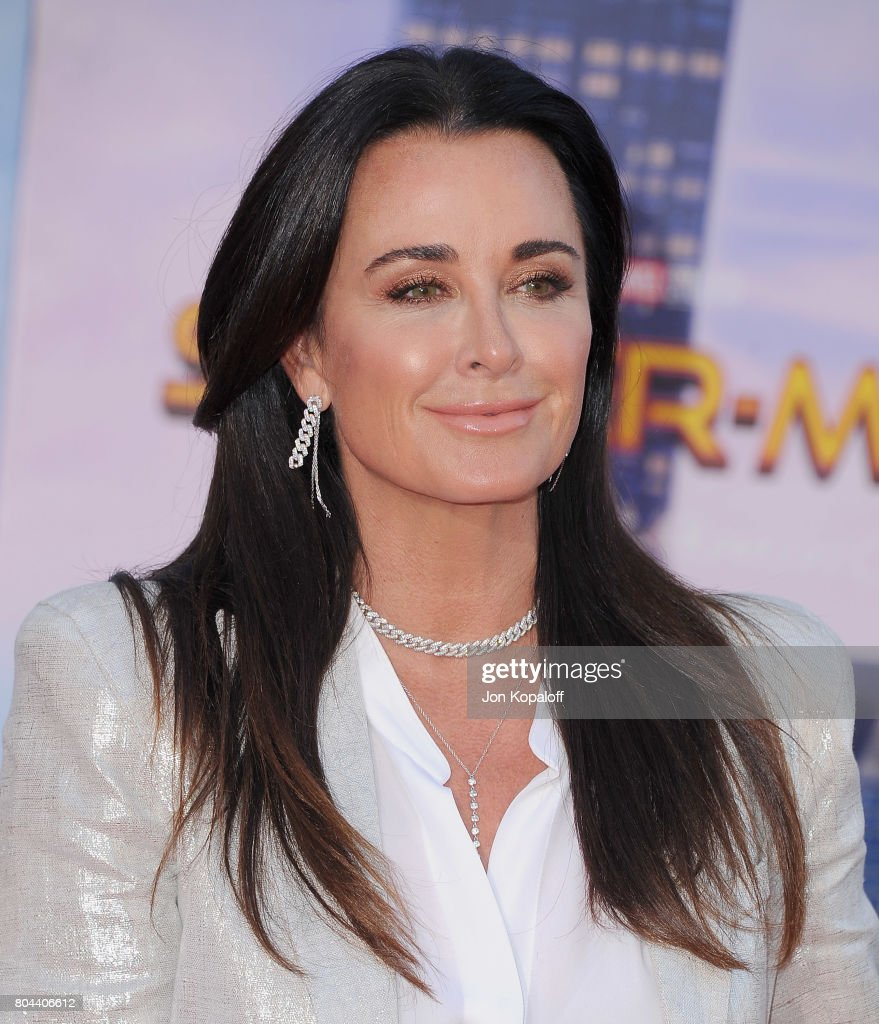 Kyle Richards arrives at the Los Angeles Premiere 'Spider-Man: Homecoming' at TCL Chinese Theatre on June 28, 2017 in Hollywood, California.