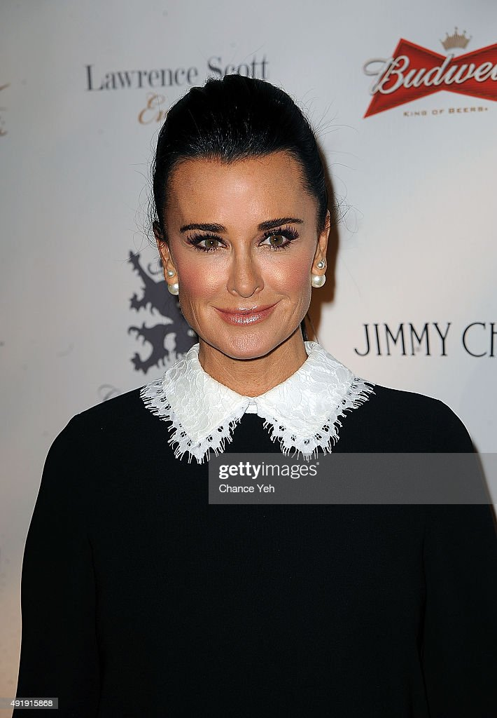 Kyle Richards attends 2015 Global Lyme Alliance Gala at Cipriani 42nd Street on October 8, 2015 in New York City.