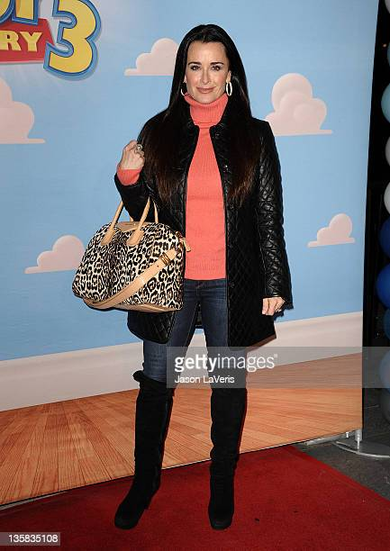 Kyle Richards attends Disney On Ice presents Disney Pixar's 'Toy Story 3' at Nokia Plaza LA LIVE on December 14 2011 in Los Angeles California