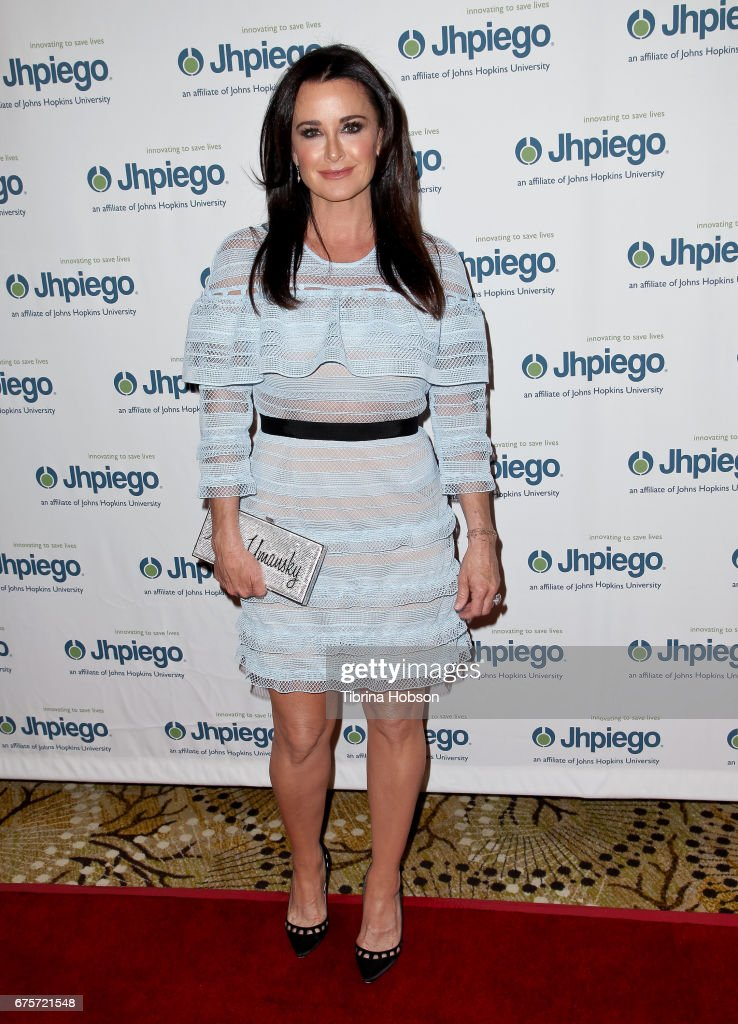 Kyle Richards attends Jhpiego's 'Laughter Is The Best Medicine' Gala at the Beverly Wilshire Four Seasons Hotel on May 1, 2017 in Beverly Hills, California.