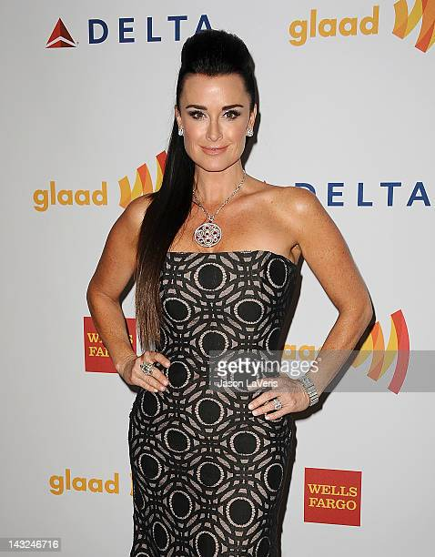Kyle Richards attends the 23rd annual GLAAD Media Awards at Westin Bonaventure Hotel on April 21 2012 in Los Angeles California