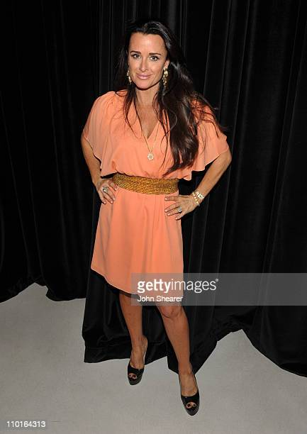Kyle Richards attends the alice olivia shopping event hosted by Kyle Richards at Alice Olivia Boutique on March 15 2011 in Beverly Hills California