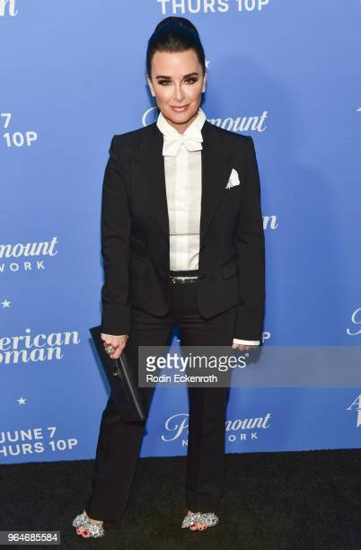 Kyle Richards attends the premiere of Paramount Network's 'American Woman' at Chateau Marmont on May 31 2018 in Los Angeles California