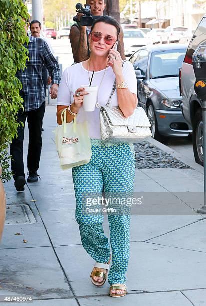 Kyle Richards is seen on September 09 2015 in Los Angeles California
