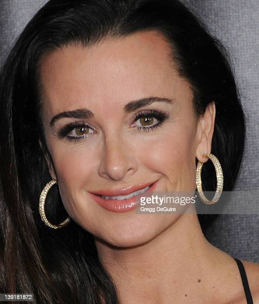 Kyle Richards of The Real Housewives of Beverly Hills arrives at TV Guide Magazine's 2010 Hot List Party at Drai's at the W Hollywood Hotel on...