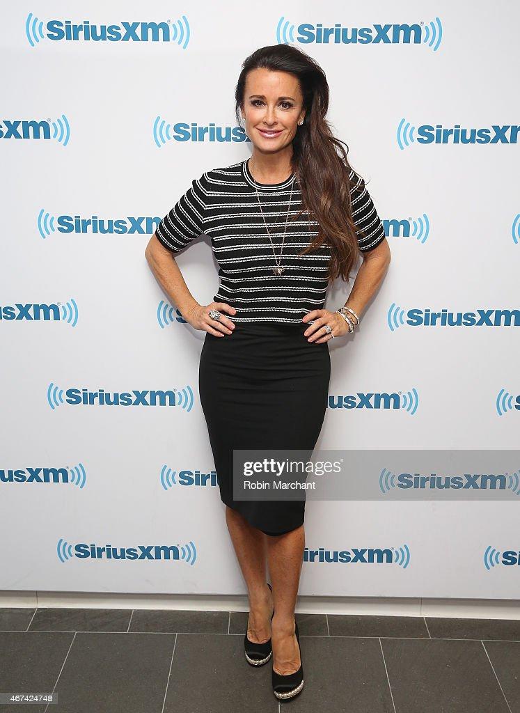 Celebrities Visit SiriusXM Studios - March 24, 2015