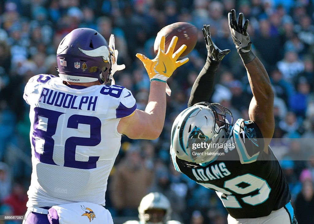 Minnesota Vikings v Carolina Panthers : News Photo