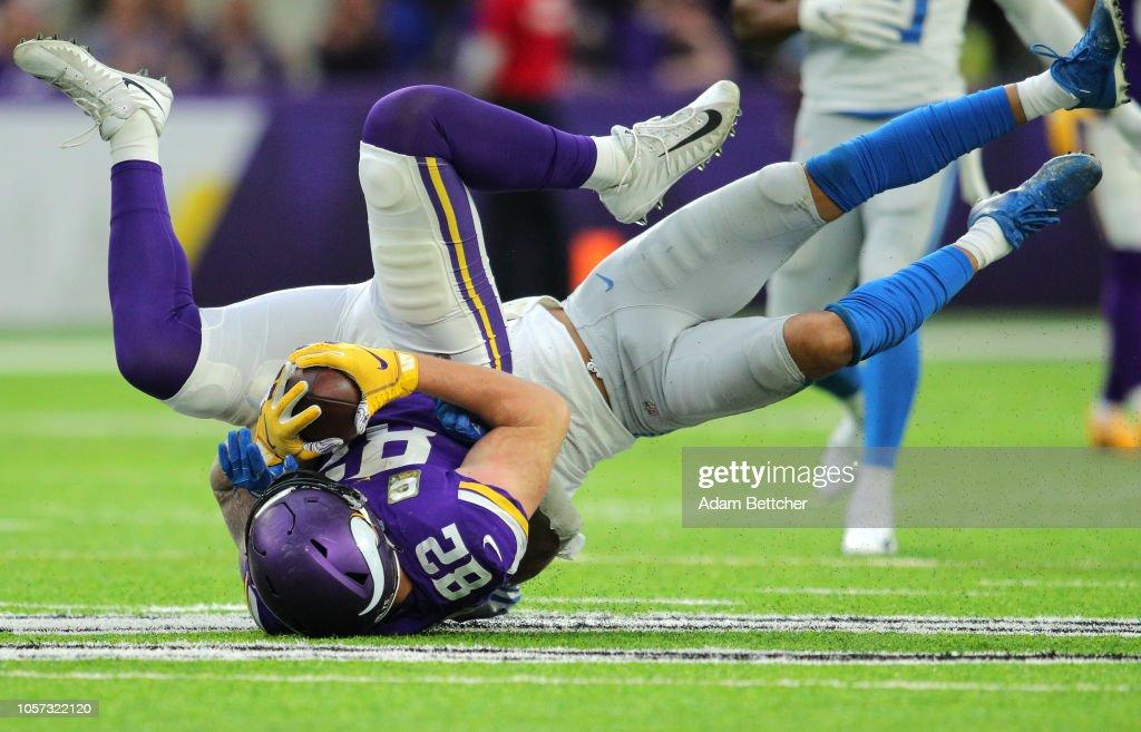 Detroit Lions v Minnesota Vikings : Fotografia de notícias