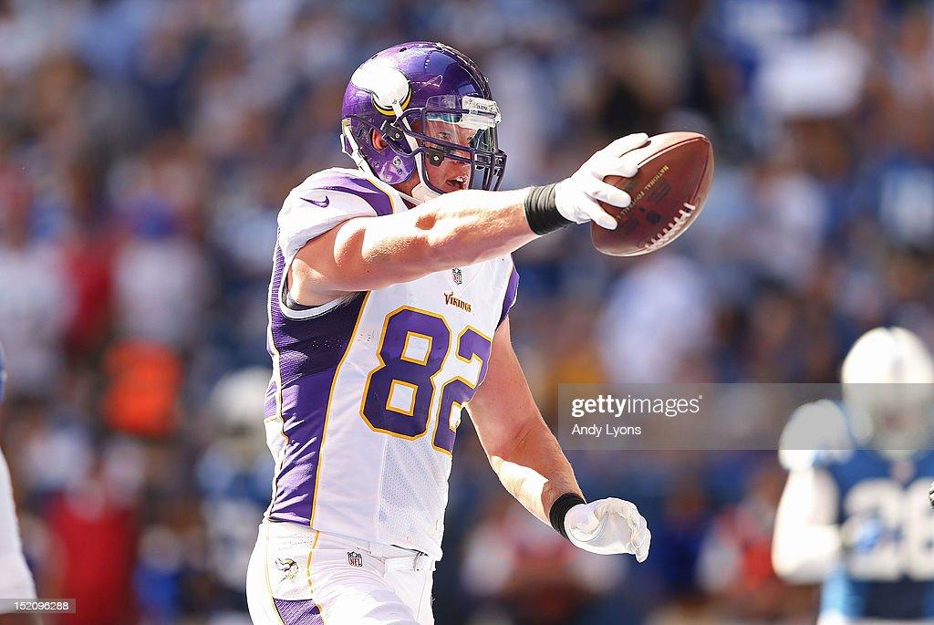 Minnesota Vikings v Indianapolis Colts : News Photo