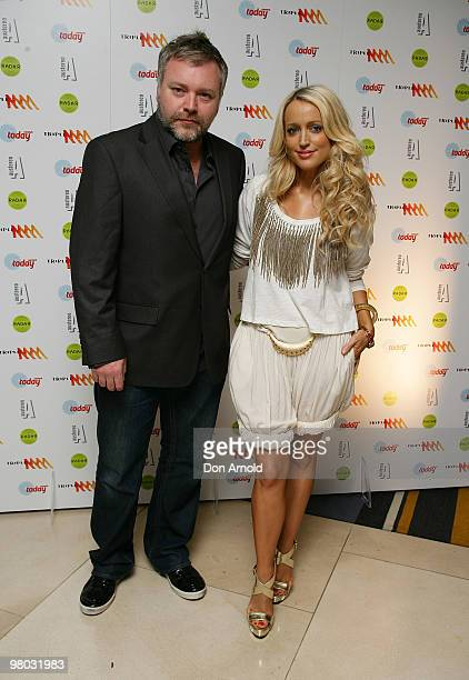 Kyle Sandilands and Jackie O attend Austereo's 'Hot As Hell' 2010 Party at the Hilton Hotel on March 25 2010 in Sydney Australia