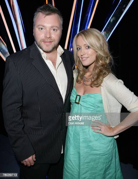 Kyle Sandilands and Jackie O attend Network Ten's 2008 Program Launch at the Hordern Pavillion on November 20 2007 in Sydney Australia