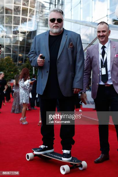Kyle Sandilands arrives for the 31st Annual ARIA Awards 2017 at The Star on November 28 2017 in Sydney Australia