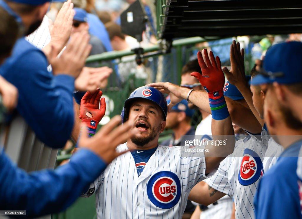 St Louis Cardinals v Chicago Cubs : News Photo