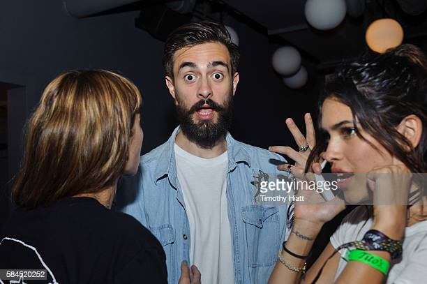 Kyle Simmons of Bastille attends NYLON Nights Chicago at The Virgin Hotel on July 28 2016 in Chicago Illinois