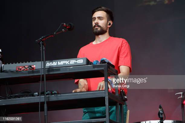 Kyle Simmons of Bastille performs at Citadel Festival at Gunnersbury Park on July 14 2019 in London England