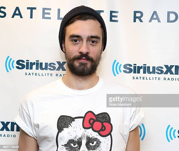 Kyle Simmons of the band Bastille visits at SiriusXM Studios on January 29 2014 in New York City