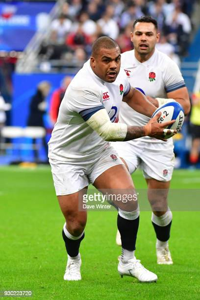 Kyle Sinckler of England during the RBS Six Nations match between France and England at Stade de France on March 10 2018 in Paris France