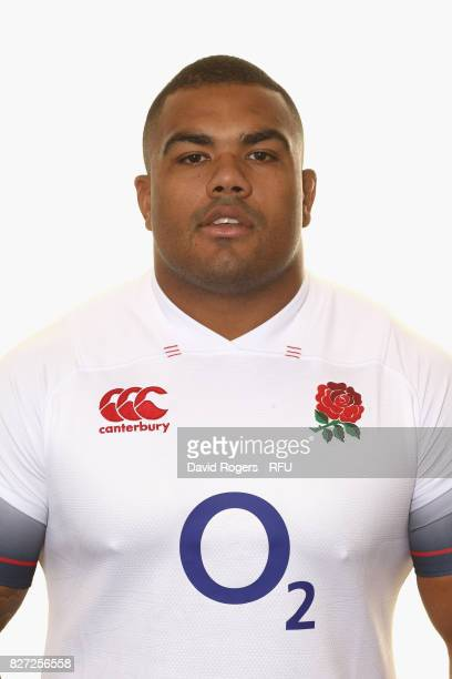 Kyle Sinckler of England poses for a portrait at The Lensbury on August 5 2017 in Teddington England