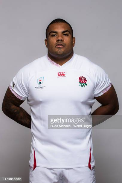 Kyle Sinckler of England poses for a portrait during the England Rugby World Cup 2019 squad photo call on September 15, 2019 in Miyazaki, Japan.