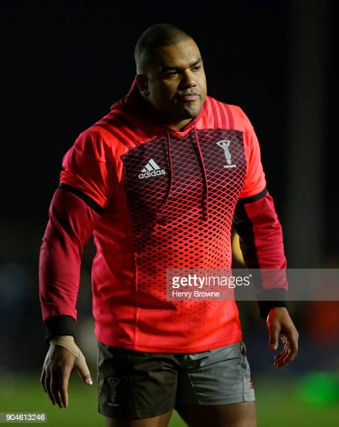 Kyle Sinckler of Harlequins during the European Rugby Champions Cup match between Harlequins and Wasps at Twickenham Stoop on January 13 2018 in...