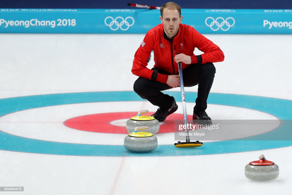 Curling - Winter Olympics Day 10