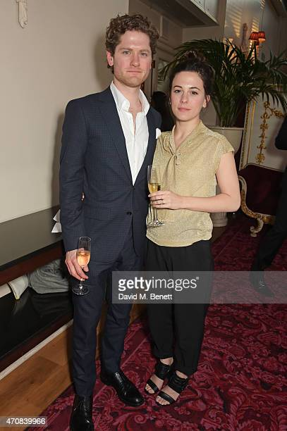 Kyle Soller and Phoebe Fox attend as Audi hosts the opening night performance of La Fille Mal Gardee at The Royal Opera House on April 23 2015 in...