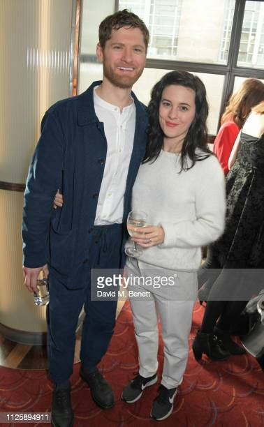 Kyle Soller and Phoebe Fox attend The Critics' Circle Theatre Awards 2019 at The Prince of Wales Theatre on January 29 2019 in London England