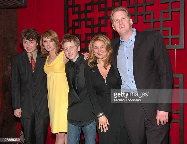 Kyle Sullivan Kaylee DeFer Dean Collins Anita Barone and Michael Rapaport