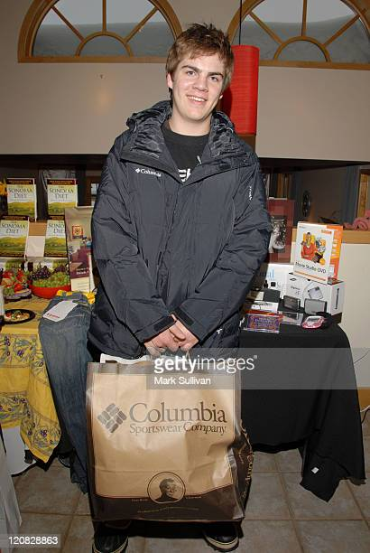 Kyle Swann during 2006 Sundance Film Festival Volkswagen Lounge Produced by Backstage Creations at VW Lounge in Park City Utah United States