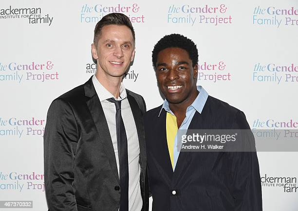 Kyle Taylor Patrick attends The Ackerman Institute's Gender Family Project's A Night of a Thousand Genders at Joe's Pub on March 23 2015 in New York...