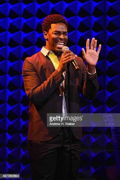 Kyle Taylor Patrick performs onstage at The Ackerman Institute's Gender Family Project's A Night of a Thousand Genders at Joe's Pub on March 23 2015...