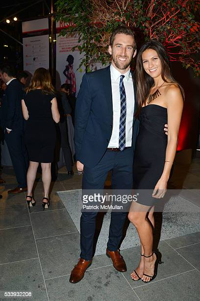 Kyle Thousand and Megan Abrigo attend Discover Many Hopes Gala 2016 at 180 Maiden Lane on May 23 2016 in New York City