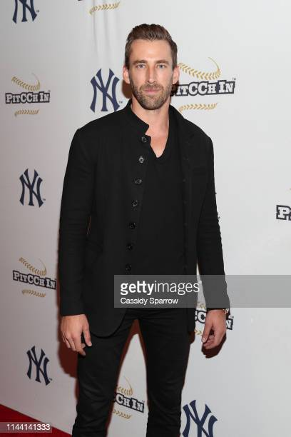Kyle Thousand attends CC Sabathia Celebrity Softball Game at Yankee Stadium on May 16 2019 in New York City