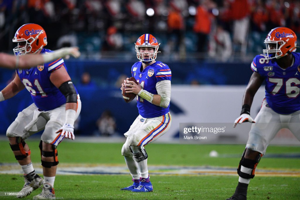 Capital One Orange Bowl - Virginia v Florida : News Photo