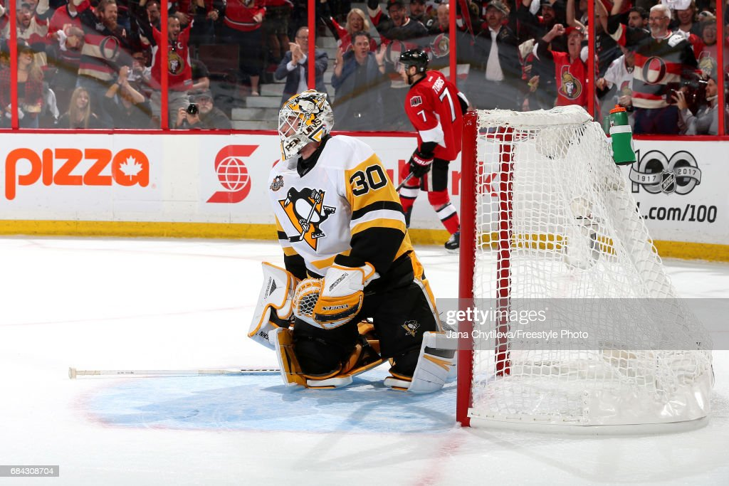Pittsburgh Penguins v Ottawa Senators - Game Three