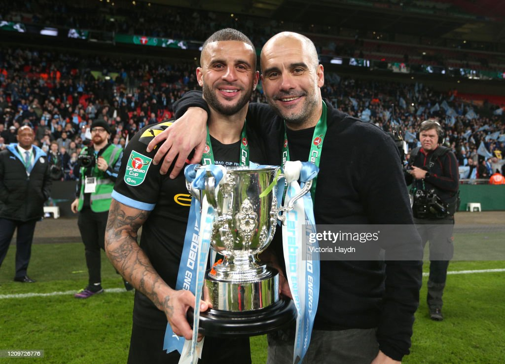 Aston Villa v Manchester City - Carabao Cup Final : News Photo