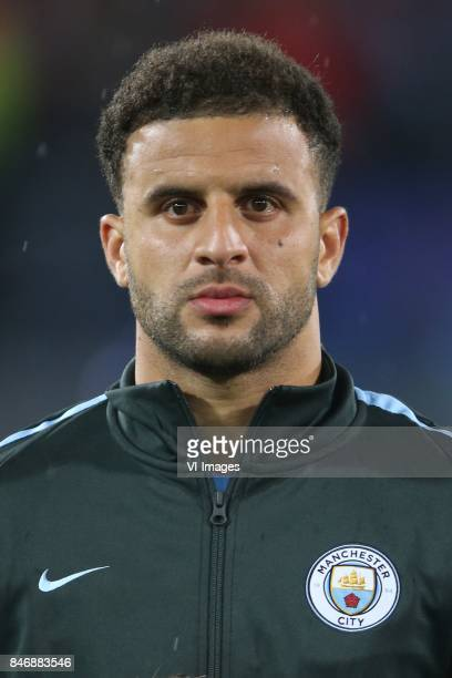 Kyle Walker of Manchester City during the UEFA Champions League group F match between Feyenoord Rotterdam and Manchester City at the Kuip on...