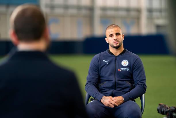 GBR: Kyle Walker of Manchester City Interview