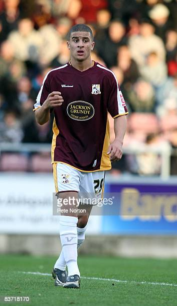 Kyle Walker of Northampton Town in action during the Coca Cola League One Match between Northampton Town and Oldham Athletic at Sixfields Stadium on...
