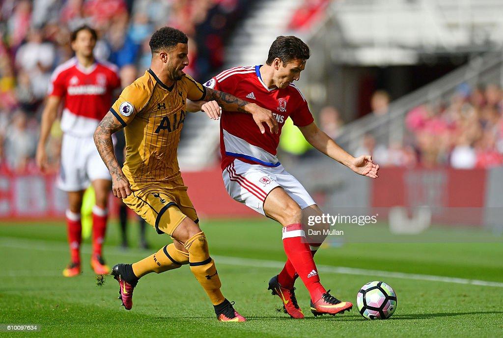 Middlesbrough v Tottenham Hotspur - Premier League : News Photo