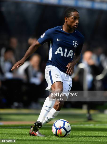 Kyle Walker Peters of Tottenham in action during the Premier League match between Newcastle United and Tottenham Hotspur at St James Park on August...