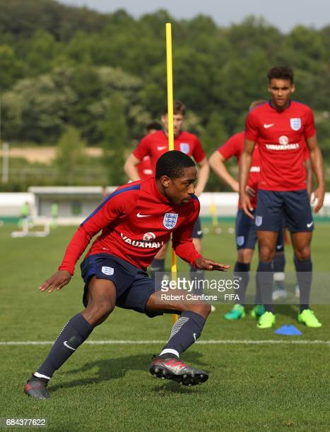 Kyle WalkerPeters of England during an England training session at the Jeonbuk FC Training Field ahead of the FIFA U20 World Cup on May 18 2017 in...